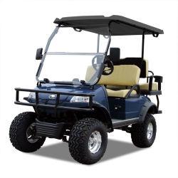 Электрический багги поле для гольфа тележки охота Car (DEL2022D2Z, темно-синяя) Blackroof