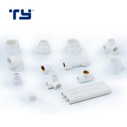 تركيبات أنابيب ASTM Sch40 من مادة PVC لإمداد الماء