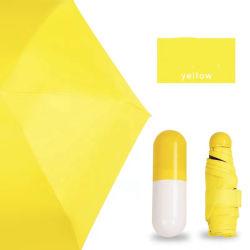 싼 여자 미니 우산 재미난 캡슐 디자인 5 접이식 레이디 Gift Rain 선우산 선물
