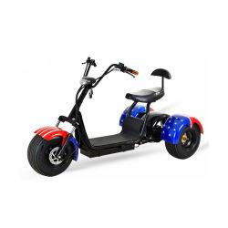 3 Rodas Citycoco potente gás Eléctrico Golf Scooter 4 Rodas adulto com controle de aplicativos de mobilidade