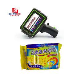 Billig Industrial mit Handheld Inkjet Drucker Datum Druck auf Kunststoff Taschen