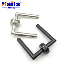 Alavanca Tubular de aço inoxidável Puxador de porta de hardware da porta