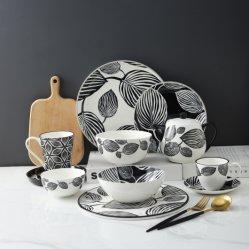 El hueso nuevo China el té de la vajilla de porcelana vajilla cena
