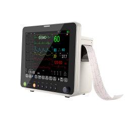 Portable Monitor de Paciente Parâmetro multi monitor do paciente paciente médico paciente do Monitor de Sinais Vitais Monitor Tela sensível ao toque do monitor de paciente do monitor de ambulância