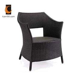 紫外線抵抗力があるアルミニウム屋外のレストランの家具のバースツールのホーム藤の椅子(RC-06021)