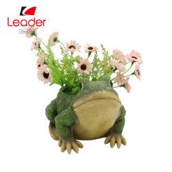 Jardin Polyresin Best-Seller grenouille Semoirs de figurine pour la maison et de la Pelouse décorative