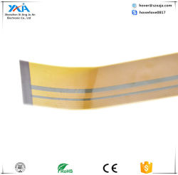 Xaja LCD Flex FPC Connector, Single Layer FPCB mit Doppeltem-Side Access Contact und Tin Plating FPCB