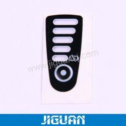 Botón de relieve superposición gráfico Papel adhesivo de la ventana Imprimir