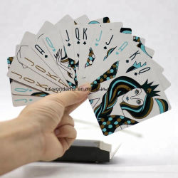 Le jeu de gros personnalisé de haute qualité des cartes à jouer au poker pour de Casino