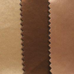 Semi-cuir synthétique, Surface Brushed-Metal, brosse de la surface finie