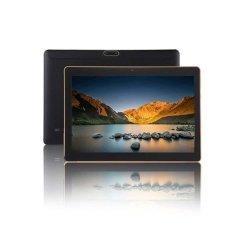 10.1インチのクォードのコア3G WCDMA RAM 1GB ROM 16GB前部0.3MP後部2.0MP 1280*800IPS Bluetoothの人間の特徴をもつタブレットのパソコン