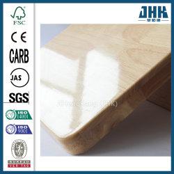 隆起100%のゴム製木製のダイニングテーブルおよび椅子