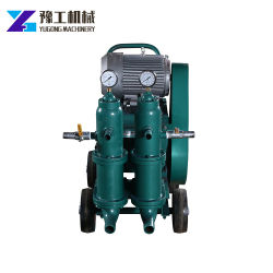 Hydraulischer doppelter Typ Kolben-Zementvergießen-Pumpe