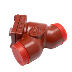 Filtro industriale dal refrigerante del compressore di refrigerazione di getto dell'acciaio dell'ammoniaca R717 di media resistenti freddi del NH3 Freon Hfc Hcfc Oil&Liquid
