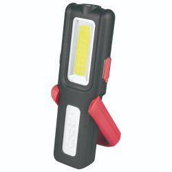 Indicatore luminoso ricaricabile rosso & nero portatile del lavoro della PANNOCCHIA