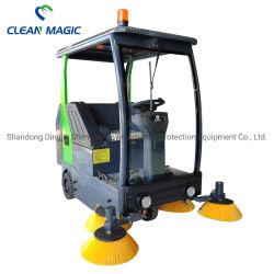 Clean Magic DJ1900z Ride sur route auto électrique étage Balayeuse Véhicule de nettoyage pour l'assainissement/atelier/gare / aéroport