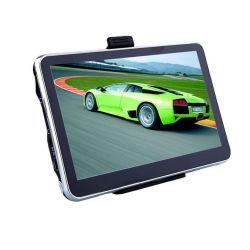 Directa de los fabricantes de 5 pulgadas portátil del navegador GPS para coche coche GPS Navigator de borde de plata de 4G de doble núcleo caliente de Venta