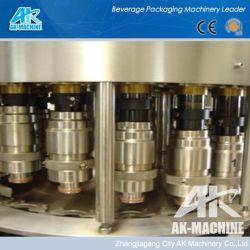CIPのきれいなシステムが付いている6000bph清涼飲料の満ちる装置