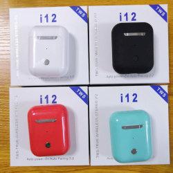 I12 Twsのタュチ・コントロール小型1:1の空気Iosのスマートな電話Xiaomi Huawei Oppoヴィヴォのための無線Bluetooth 5.0のイヤホーンのポッドのヘッドセット