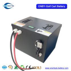 48V60ah Agv van de Batterij van de Kar van het Golf van de Batterij van het lithium de Batterij van de Leeuw/Voertuigen/Batterij de Met lage snelheid van de Kar LiFePO4 van het Golf
