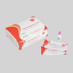 El diagnóstico médico de alta precisión de un solo paso Kit de prueba rápida del VHC