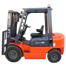 La construction de l'éclairage conception primées 2000kg diesel 4400lbs chariot élévateur à fourche