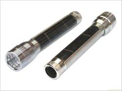 야간 태양열 전력의 조명용 LED 태양 에너지 토치 USB 충전식 플래시