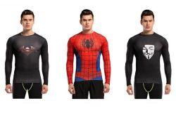 High-Order Elasticty ropa deportiva traje de lycra para hombres