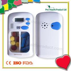 (pH5027) 2つのコンパートメント丸薬タイマー