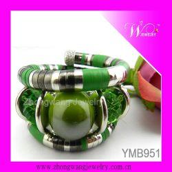 Mode Bracelet cristal à facettes et céramique (YMB951)