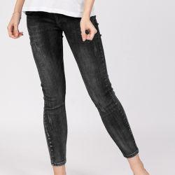 Il denim di modo delle donne ansima i jeans sottili di maternità degli indumenti dei vestiti dell'abito della mutanda dei jeans del denim delle ragazze di usura casuale di misura