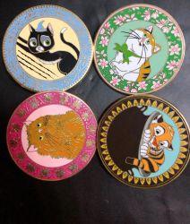 Directe du fabricant de produire de gros chat ronde personnalisée Cartoon émail Épinglette de métal