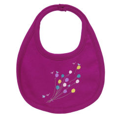 Suave y cómodo bordados personalizados babero de bebé