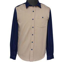Camicia di vestito lunga da polo dell'uomo di modo del manicotto di ultimo disegno