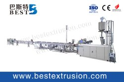BST 플라스틱 HDPE/PPR/Pert 물 공급 파이프/파이프 Makiing 기계/지능형 제어 시스템 플라스틱 압출기 기계