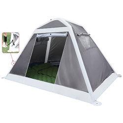 Opblaasbare tent - 2 persoons Ultralight backpacking tenten voor Camping - Waterproof makkelijk in te stellen Instant tent voor kinderen of volwassenen, Outdoor Camp tent voor Beach, Hikin