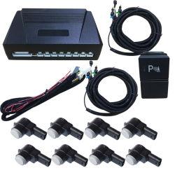 OE de voor en AchterSensor van het Parkeren van de Auto van de Camera van de Zoemer van het Scherm van Orignal van 8 Sensor voor de Radar van Honda