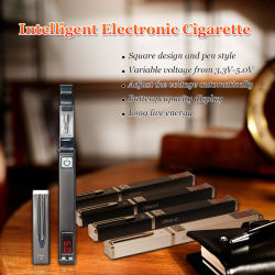 3.3-5.0V CE&RoHS Newest Designed Variable Voltage E Cigarettes, bacchetta Display &Digital Electronic Cigarette Starter Kits di I
