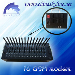부피 SMS MMS, Q2303/Q2403/Q2406/Q24plus를 위한 RJ45 공용영역 Wavecom 전산 통신기
