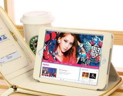 Caso di cuoio del genio per iPad/iPad 2/iPad 3 (ch-ipd-0130)