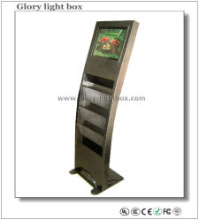 19 Inch Automatic Floor Standing LCD Advertizing Player mit IR Touch Screen