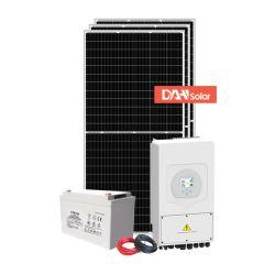 Panneau d'alimentation du système solaire hybride 3kw 5 kw 8 kw 10kw avec de très intelligent de gestion de l'énergie