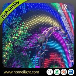 LEIDEN van de Doek van de Visie van het Gordijn van de Achtergrond van de matrijs RGB VideoGordijn voor de Verlichting DJ, Staaf, Gebeurtenissen van het Stadium