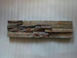 La decoración de mosaico cultural de la pared de piedra natural