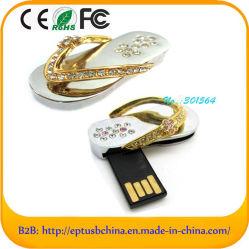 Sapatos de cristal caneta USB Flash em forma de controlador de memória (ES126)