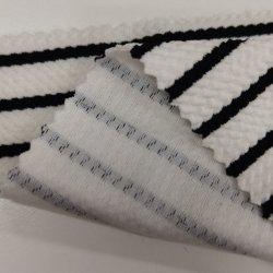 الصين المورّد 100 بوليستر سباندكس ستريتش ستريب قماش الجاكار النحيق لبلايا السباحة، الملابس، الملابس الرياضية