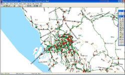 Malasia Mapa Digital Esri Shp mapa de formato de mapa de muchos países