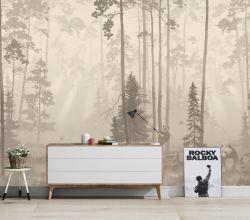 벽 벽화, 주문 벽 종이 장식적인 가정 Deco 거실 침실 방수 조경 요약 꽃 주문을 받아서 만들어지는 예술적인 예술 관례