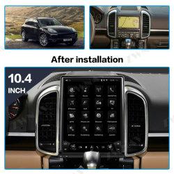 La pantalla de Tesla radio del coche de la navegación GPS para Porsche Cayenne 2011-2016 Android Multimedia reproductor de DVD Audio Player.