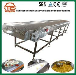 Roestvrijstalen aardappelelevator tabel als selectielijn bij Beste prijs in China